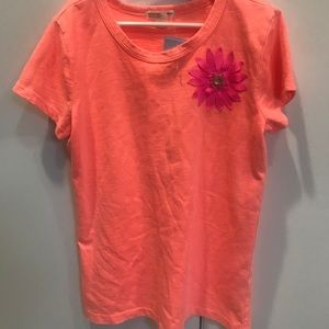 Crewcuts T Shirt with Flower